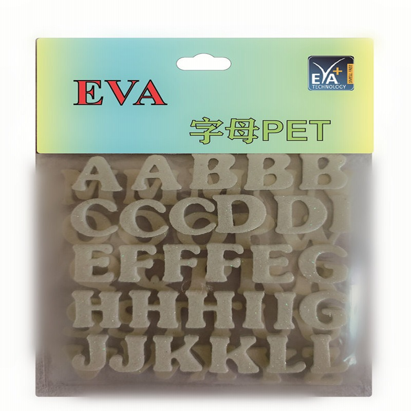 Foam stickers PET Foam Glitters PET